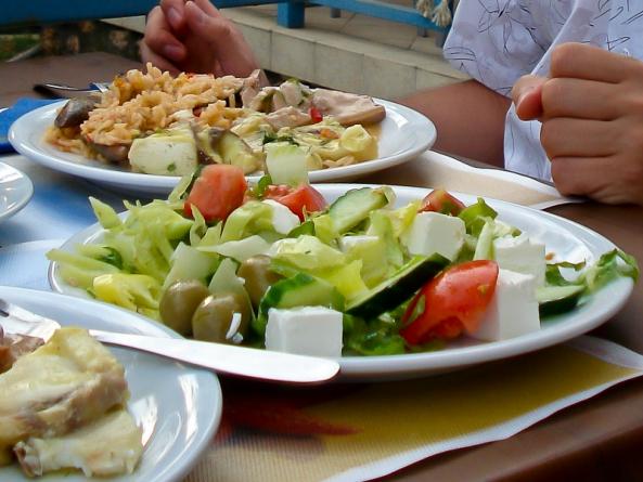 Цены на еду на Крите 2018