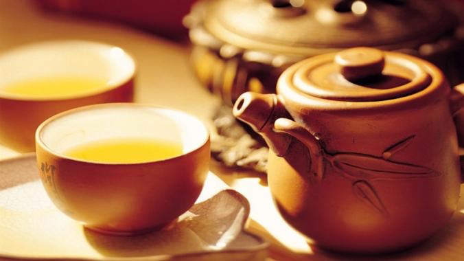 Сколько калорий в чае черном и зеленом