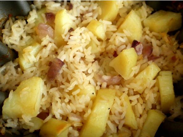 Что полезнее рис или картофель
