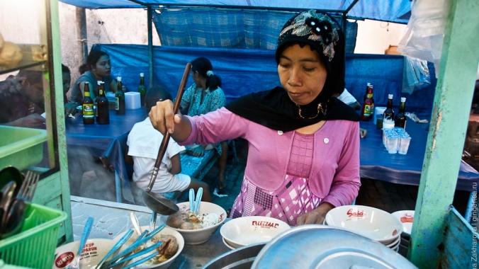Цены на еду в Индонезии в 2017 году