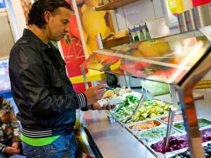 Цены в Амстердаме на еду 2017