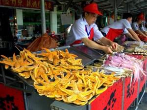 Цены на еду в Китае в 2017 году